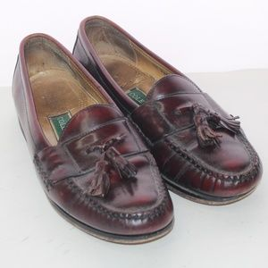 Cole Haan Tasseled Cordovan Leather Loafers 11